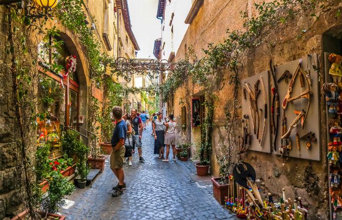 Ovierto - Dagsture udenfor Rom