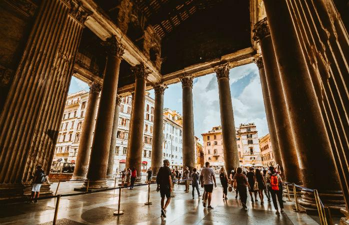 Pantheon - Seværdigheder i Rom