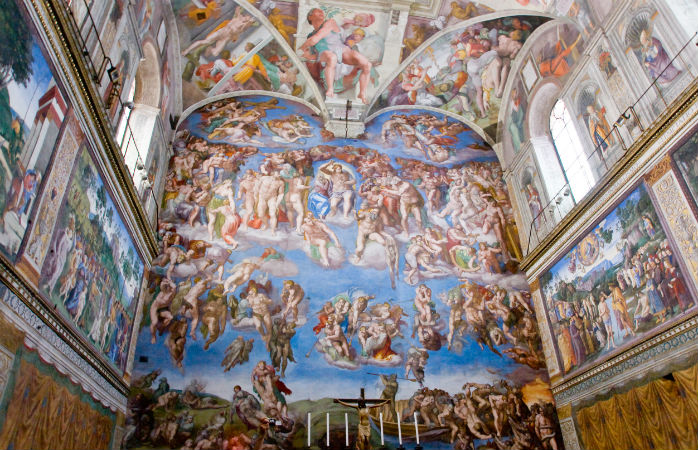 Det Sixtinske Kapel - Seværdigheder i Rom