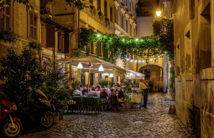 Trastevere - Seværdigheder i Rom