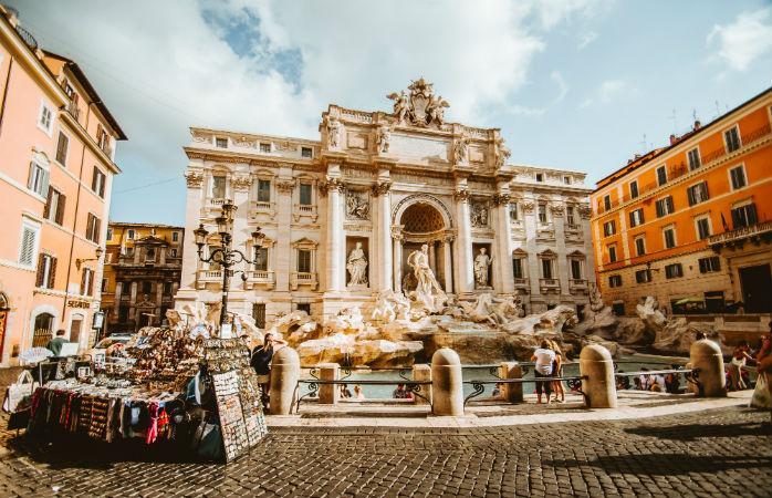 Trevi Fontænen- Seværdigheder i Rom