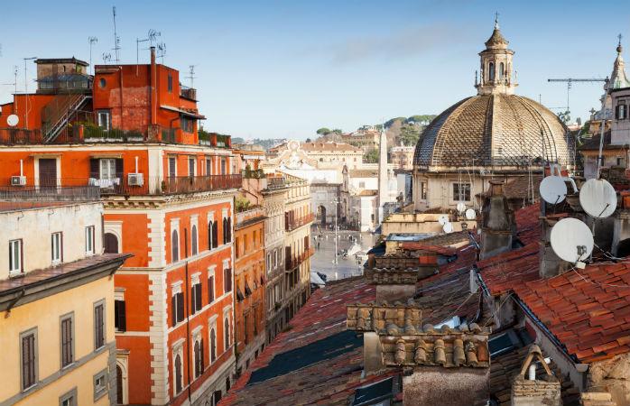 Via del Corso - Seværdigheder i Rom