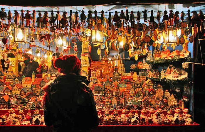 Nürnbergs Christkindlesmarkt har to millioner besøgende årligt