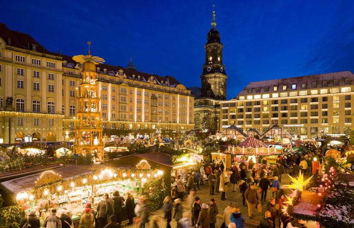 Dresdens Striezelmarkt er Tysklands ældste julemarked