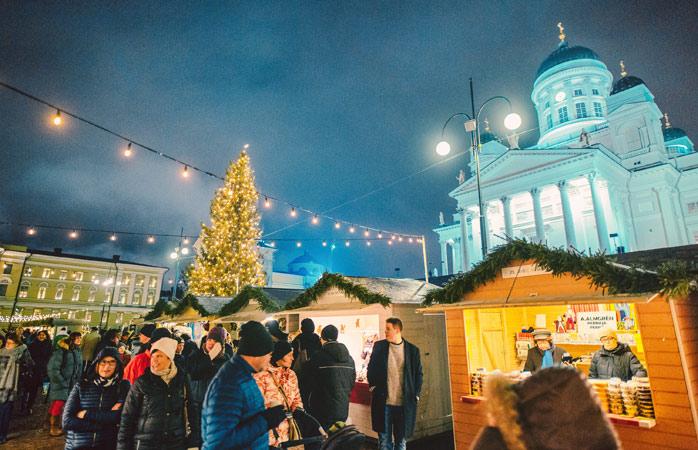 Mød julemanden i Helsinki