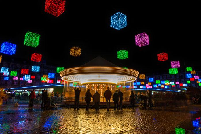 Besøg Madrid, hvis du er i humør til en farverig julemarkedsoplevelse
