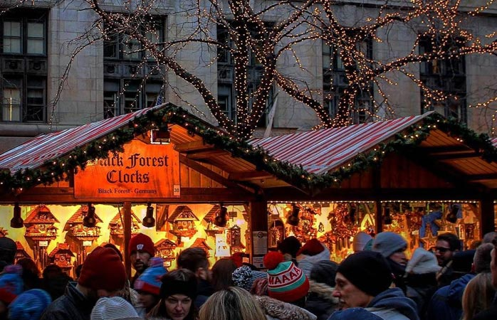 Ja, der findes glimrende julemarkeder uden for Europa – ikke mindst Chicago's Christkindlmarket