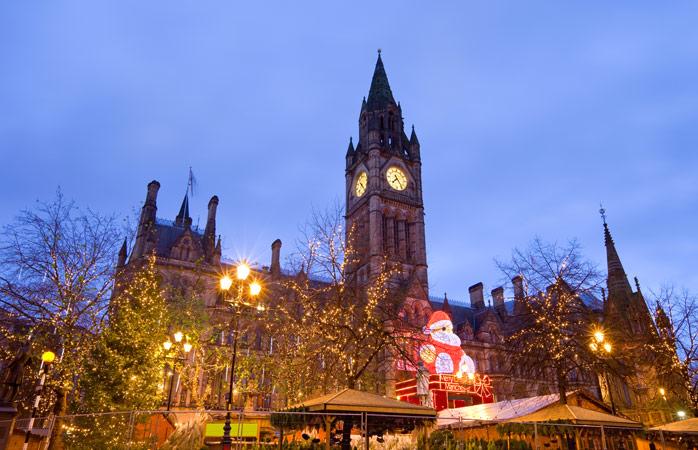 Drømmer du om en britisk jul? Så gå på opdagelse i Manchesters julemarked