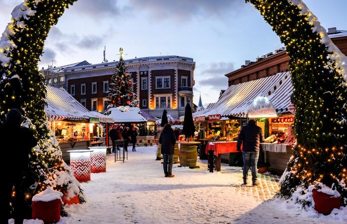 Rigas julemarked ligger i et UNESCO-beskyttet område