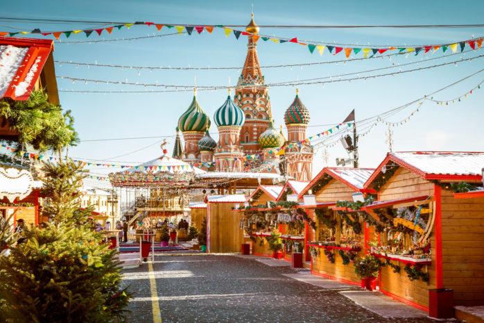 Gå ikke glip af et besøg på julemarkedet på Den Røde Plads