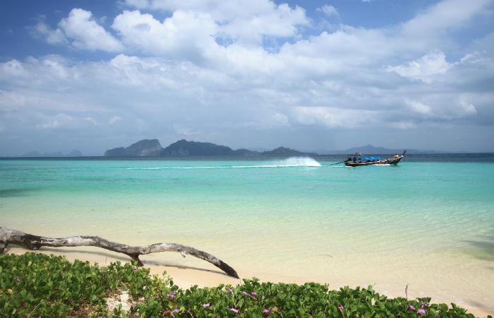 Koh Kradan i Thailand
