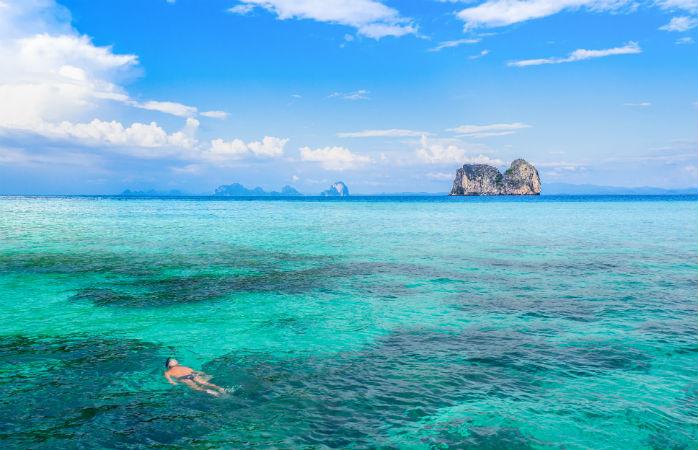 Koh Ngai i Thailand
