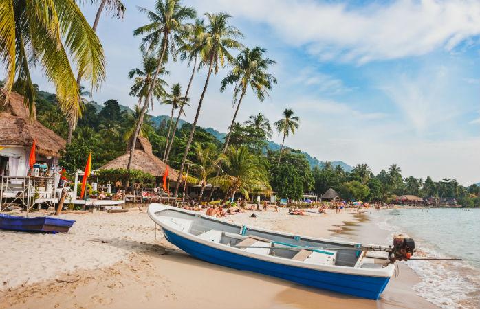 Koh Chang i Thailand