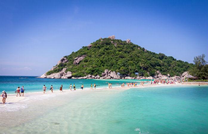 Koh Tao i Thailand