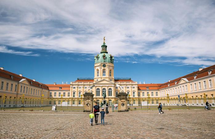 Charlottenburg Slott i Berlin