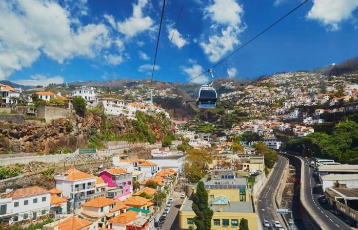 Funchal på Madeira