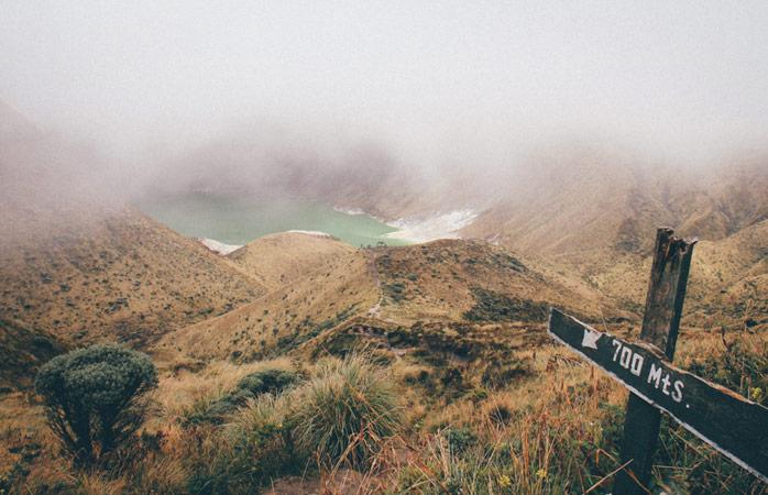 Laguna Verde i Columbia