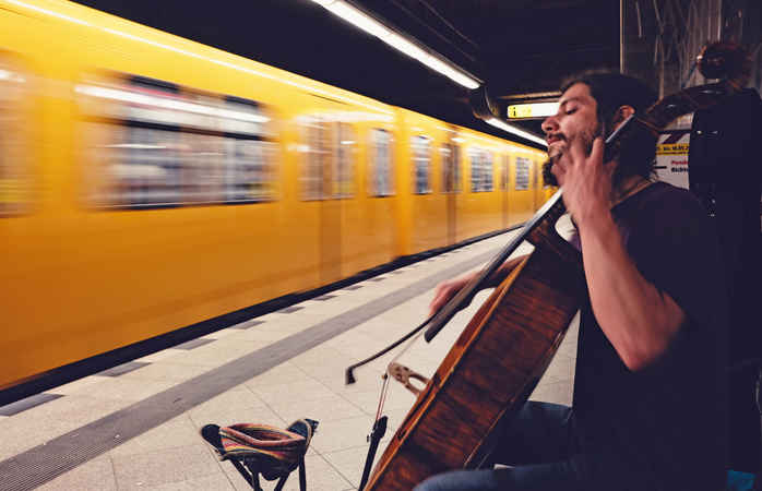 Berlins U-bahn er blot en af de mange former for offentlig transport