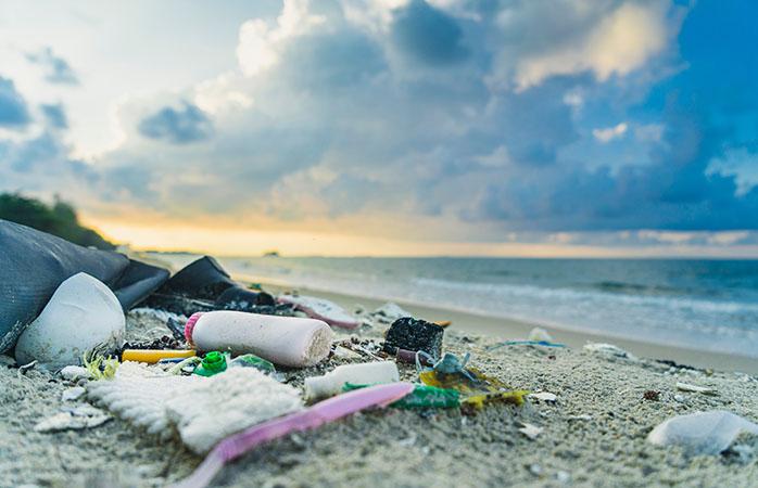 Ikke ligefrem en udsigt, vi ønsker at se på strandferien