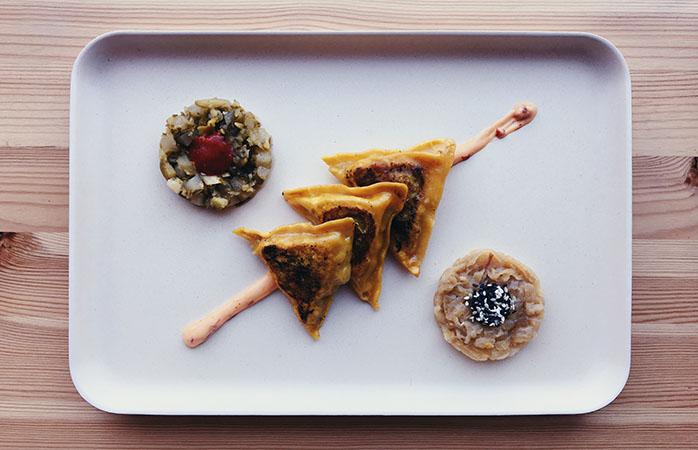 Smut forbi DingsDums og prøv de vegetariske dumplings @DingsDums