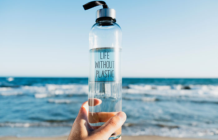 Tag din genanvendelige drikkeflaske med på rejsen
