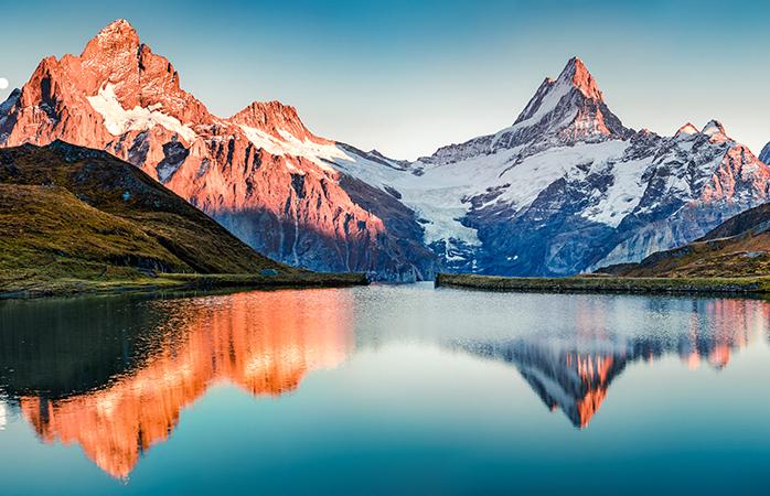Schweiz har nogle af klodens reneste vandområder